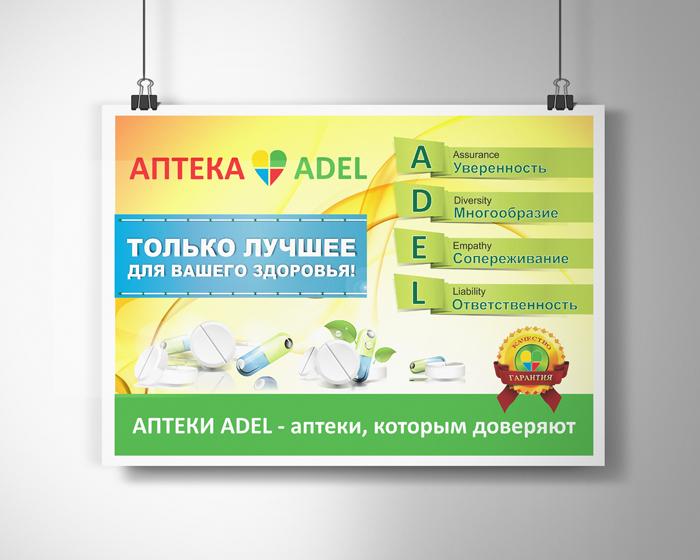 Постеры в аптеку