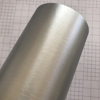 Пленка царапанное серебро